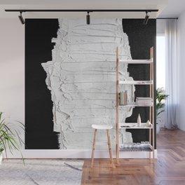 Black, White & White Wall Mural