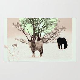 Winter horses Rug