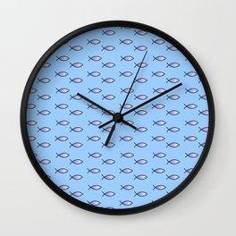 Ichthys 4 Wall Clock