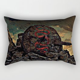Fallen Hero Rectangular Pillow