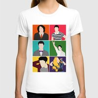 hedwig T-shirts featuring From Harry To Hedwig by byebyesally