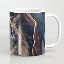 The Ragdoll Cat Is in the Bag Coffee Mug