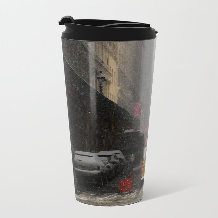 Snow Empire - NYC Metal Travel Mug