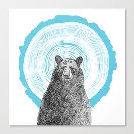 Ring Bearer - Blue Canvas Print