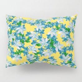 Summer Flowers Yellow Pillow Sham