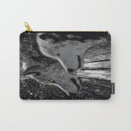 WOLF ENCOUNTER Carry-All Pouch