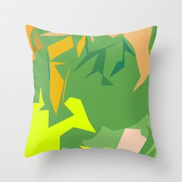 Always Greener Throw Pillow