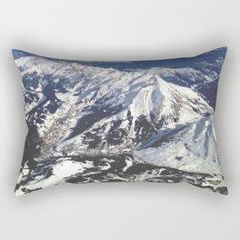 Alpes en avion Rectangular Pillow