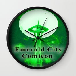 EMERALD CITY COMICON Wall Clock