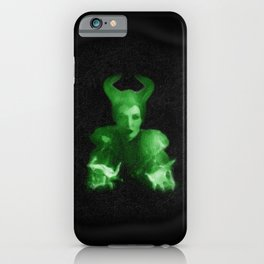 Maleficent's Evil Spell / Sleeping Beauty iPhone Case