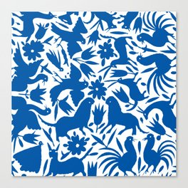 otomi blue Canvas Print