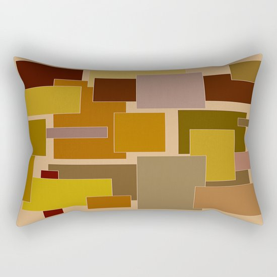 Abstract #383 Rectangular Pillow