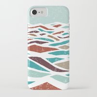 arcade fire iPhone & iPod Cases featuring Sea Recollection by Efi Tolia