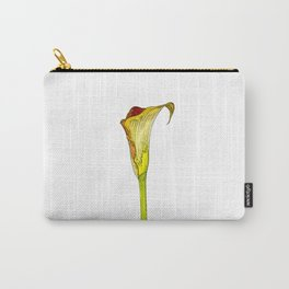 Calla Lily Cartoon Carry-All Pouch