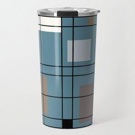 1950's Abstract Art Travel Mug