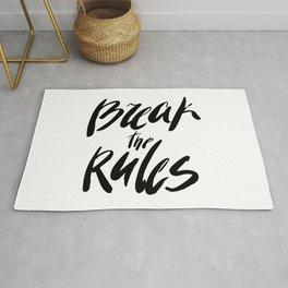 Break the rules! Rug