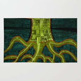 Tree Town - ROOTS Rug