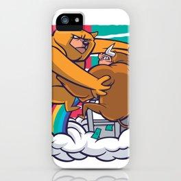 Bear Bull iPhone Case