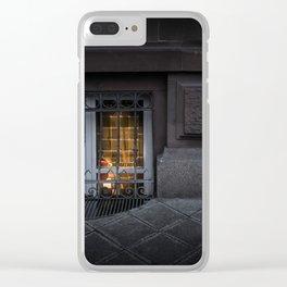 Sidewalk Window Clear iPhone Case