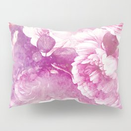 rose garden in purple Pillow Sham