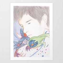 Течь. Art Print