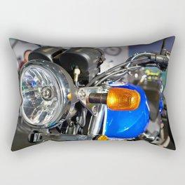 Headlight of road motorcycle bike classic Rectangular Pillow