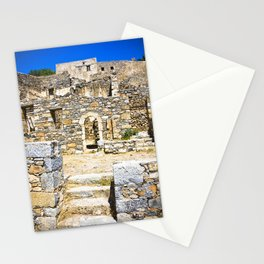 Spinalonga Stationery Cards