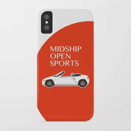 Midship Open Sports iPhone Case