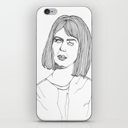 My Kind Of Woman Lines iPhone Skin
