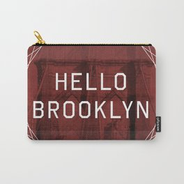hello brooklyn Carry-All Pouch