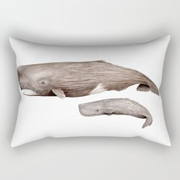 Sperm whale Rectangular Pillow