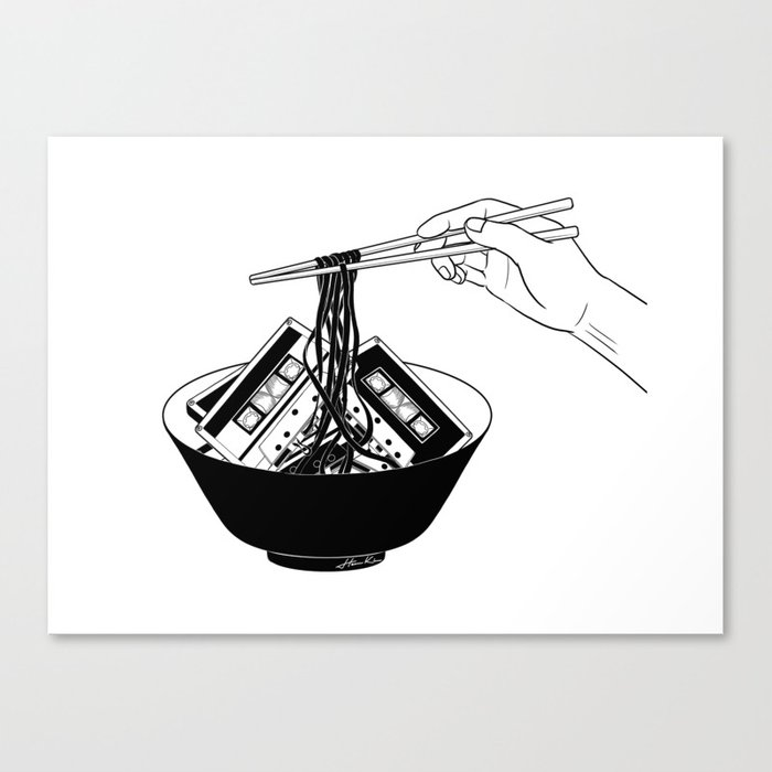 Enjoy Your Meal Canvas Print