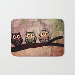 owl 187 Bath Mat