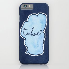Tahoe True Blue 2 iPhone Case