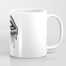 Dripping Lips Coffee Mug