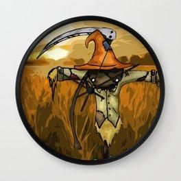 Scarecrow Tattoo Wall Clock