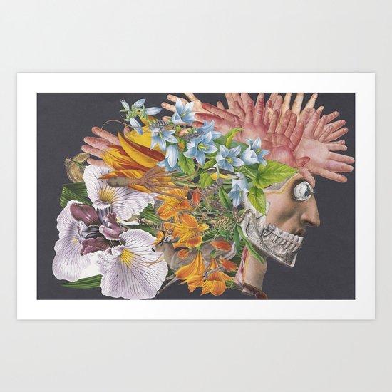 Art and Nightlife Art Print