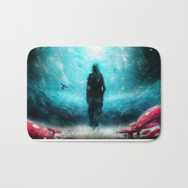 Facing eternity Bath Mat