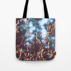 Berries at the Lake  Tote Bag
