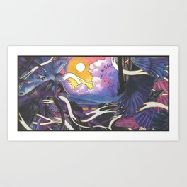 The Raven Cycle Art Print