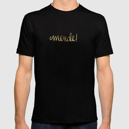 Pardon My French – Gold Ink T-shirt