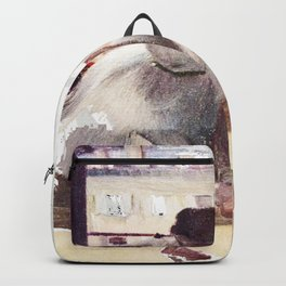 DEGAS DANCERS GREY AND PINK Backpack