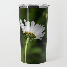 Flower in the rain Travel Mug