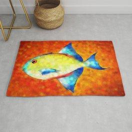 Esperimentoza - gorgeous fish Rug