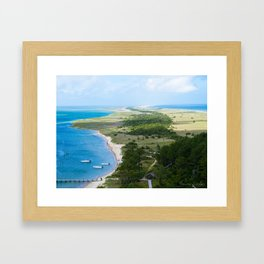 Looking out over the Cape Framed Art Print