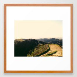 Turnbull Canyon, CA Framed Art Print