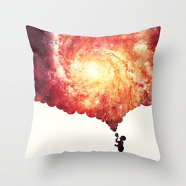 The universe in a soap-bubble! Throw Pillow
