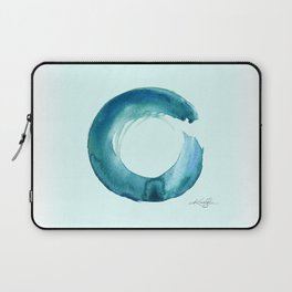 Serenity Enso No. 1 by Kathy Morton Stanion Laptop Sleeve