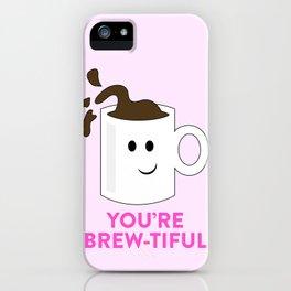 BREW-TIFUL iPhone Case