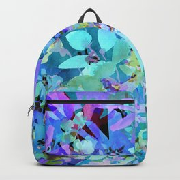 Sky Blue Poppies Backpack